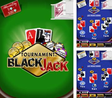Download free mobile game: Tournament BlackJack - download free games for mobile phone.