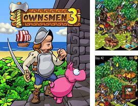 Download free mobile game: Townsmen 3 - download free games for mobile phone.