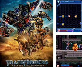 In addition to the game Indiana Jones and the Kingdom of the Crystal skull for mobile phone, you can download mobile game Transformers for free.