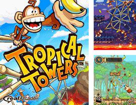 In addition to the game Mudik Driving for mobile phone, you can download mobile game Tropical Towers (Tiki Towers) for free.