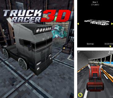 In addition to the game Xmas pinball fever for mobile phone, you can download mobile game Truck Racer 3D for free.