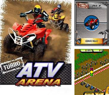 In addition to the game Bikini bubbles: Amy Rose for mobile phone, you can download mobile game Turbo ATV Arena for free.
