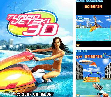 Download free mobile game: Turbo Jet Ski 3D - download free games for mobile phone.