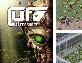 Download free mobile game: UFO Aftershock - download free games for mobile phone.