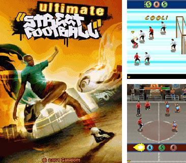 In addition to the game Finger drag for mobile phone, you can download mobile game Ultimate Street Football for free.