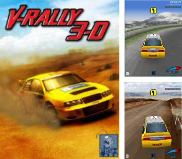 Download free mobile game: Vrally 3D - download free games for mobile phone.
