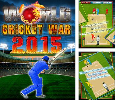 Download free mobile game: World cricket war 2015 - download free games for mobile phone.