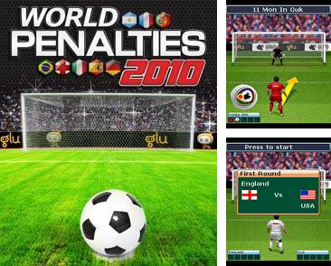 In addition to the game Dragon hunting for mobile phone, you can download mobile game World Penalties 2010 for free.