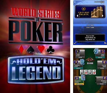 Download free mobile game: World Series Of Poker: Hold'em Legend - download free games for mobile phone.