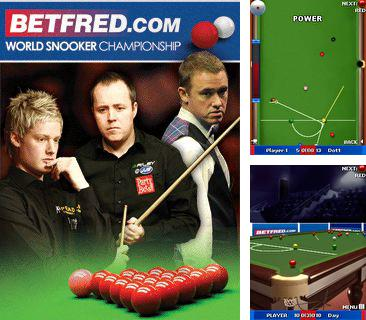 In addition to the game Tetris Blockout for mobile phone, you can download mobile game World Snooker Championship 2011 for free.