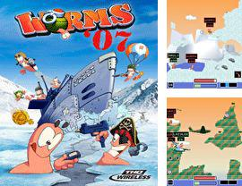 In addition to the game Smiles stones for mobile phone, you can download mobile game Worms 2007 for free.