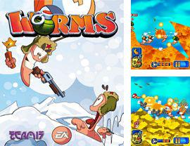 In addition to the game Star Couple for mobile phone, you can download mobile game Worms 2010 for free.