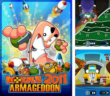 In addition to the game Moto challenge reloaded for mobile phone, you can download mobile game Worms 2011 Armageddon for free.