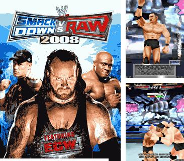 Download free mobile game: WWE SmackDown vs. RAW 2008 - download free games for mobile phone.