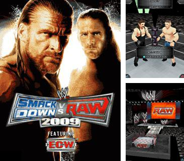 En plus du jeu Nuages flottants  pour votre téléphone, vous pouvez télécharger gratuitement Le Wrestling: WWE SmackDown vs. RAW 2009, WWE SmackDown vs. RAW 2009.