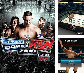 En plus du jeu L'Attaque dePile pour votre téléphone, vous pouvez télécharger gratuitement WWE SmackDown contre RAW 2010, WWE SmackDown vs. RAW 2010.