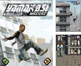 In addition to the game Flag Challenge for mobile phone, you can download mobile game Yamakasi masters for free.