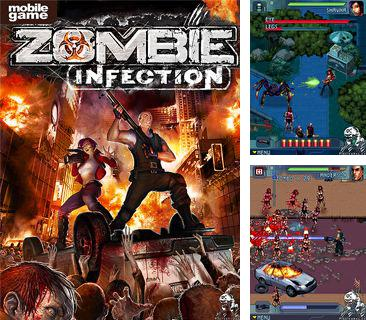 In addition to the game Moto car racing for mobile phone, you can download mobile game Zombie Infection for free.