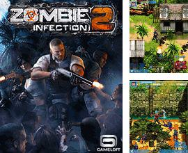 In addition to the game Shoot the bubble bottle for mobile phone, you can download mobile game Zombie Infection 2 for free.