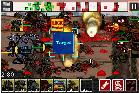 Free 2012: Zombies vs. aliens download for iPhone, iPad and iPod.