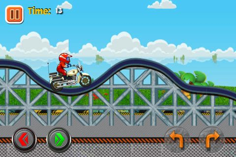 Download 2014 Super moto racing iPhone free game.