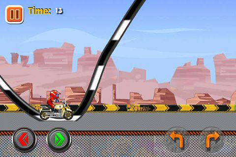 Screenshots of the 2014 Super moto racing game for iPhone, iPad or iPod.