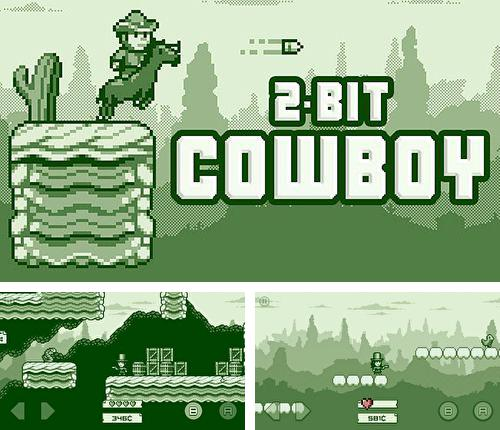 In addition to the game TETRIS for iPhone, iPad or iPod, you can also download 2-bit cowboy for free.