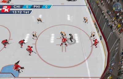 Download 2K Sports NHL 2K11 iPhone free game.