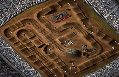 Screenshots do jogo 2XL Supercross para iPhone, iPad ou iPod.