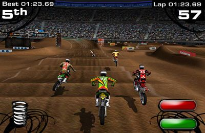 Écrans du jeu 2XL Supercross pour iPhone, iPad ou iPod.