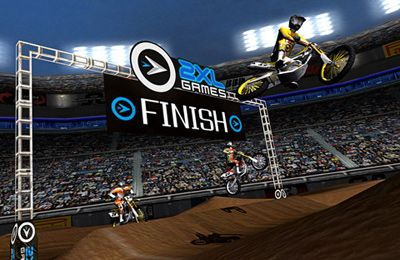Геймплей 2XL Supercross для Айпад.