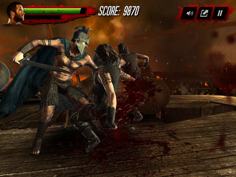 Capturas de pantalla del juego 300 Rise of an empire: Seize your glory para iPhone, iPad o iPod.