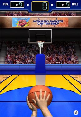 Download 3 Point Hoops Basketball iPhone free game.