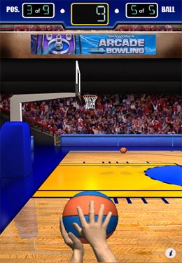 Kostenloser Download von 3 Point Hoops Basketball für iPhone, iPad und iPod.