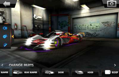 Capturas de pantalla del juego 3D Car Builder para iPhone, iPad o iPod.
