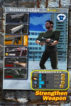 Download 3D City Run 2 iPhone free game.