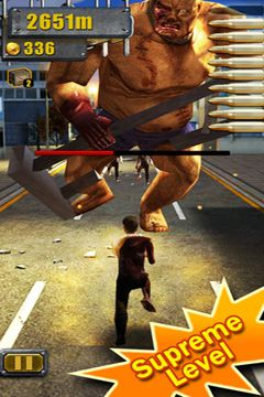 Free 3D City Run 2 download for iPhone, iPad and iPod.