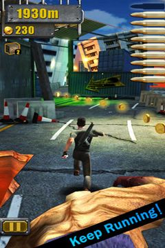 Capturas de pantalla del juego 3D City Run 2 para iPhone, iPad o iPod.