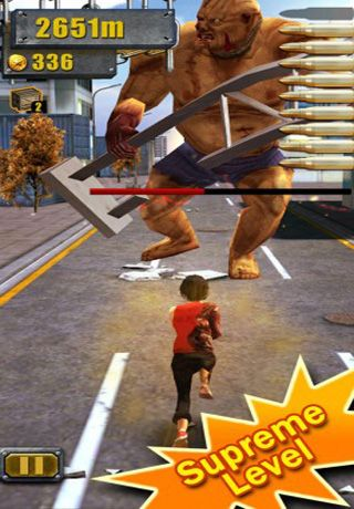 Descarga gratuita de 3D City Run Hot para iPhone, iPad y iPod.