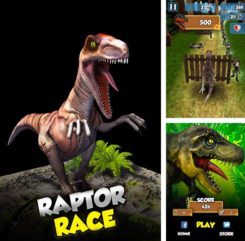 In addition to the game Cave Bowling for iPhone, iPad or iPod, you can also download 3D Dino raptor race for free.