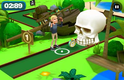 Free 3D Mini Golf Challenge download for iPhone, iPad and iPod.