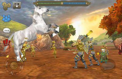 Download 3D MMO Celtic Heroes iPhone free game.