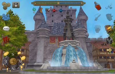 Screenshots of the 3D MMO Celtic Heroes game for iPhone, iPad or iPod.