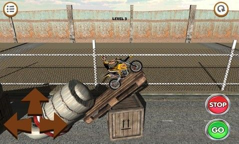 Capturas de pantalla del juego 3D Motocross: Industrial para iPhone, iPad o iPod.