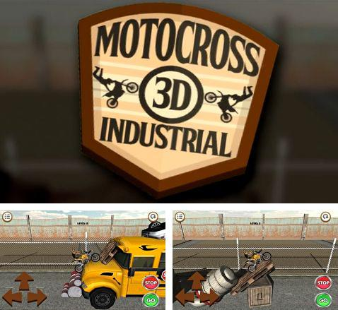 Download 3D Motocross: Industrial iPhone free game.