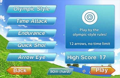 Download 3D Olympus Archery Pro iPhone free game.