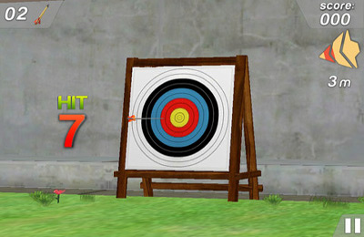 Capturas de pantalla del juego 3D Olympus Archery Pro para iPhone, iPad o iPod.