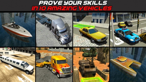 Download 3D Parking simulator compilation: Best of 2014 iPhone free game.