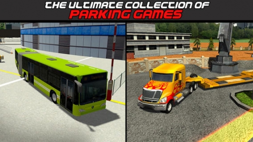Descarga gratuita de 3D Parking simulator compilation: Best of 2014 para iPhone, iPad y iPod.
