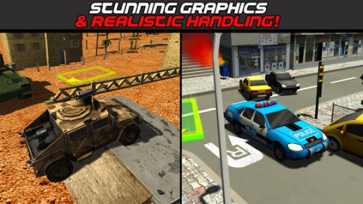 Screenshots of the 3D Parking simulator compilation: Best of 2014 game for iPhone, iPad or iPod.